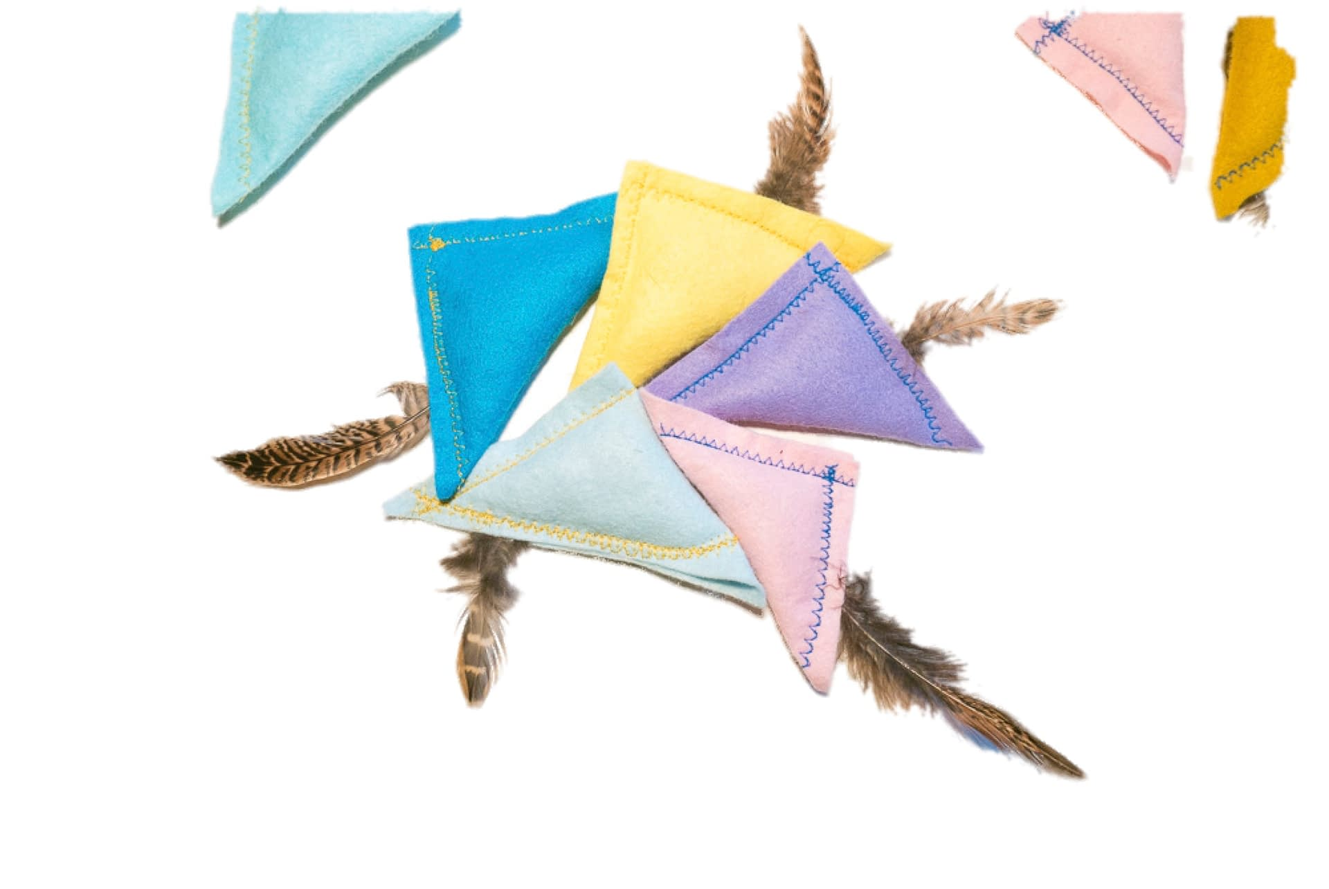 catnip feather toys